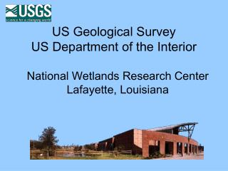 US Geological Survey US Department of the Interior