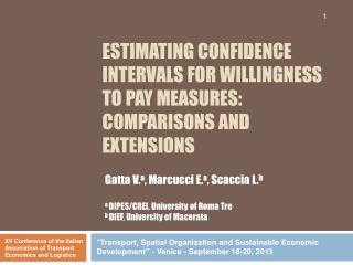 Estimating confidence intervals for  willingness to pay  measures: comparisons and  extensions