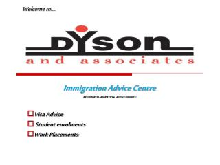 Immigration Advice Centre REGISTERED MIGRATION  AGENT 9360621 Visa Advice  Student enrolments