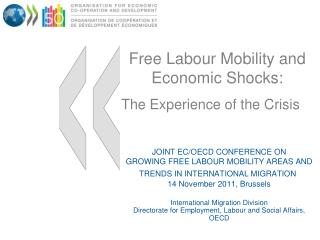 Free Labour Mobility and Economic Shocks:  The Experience of the Crisis