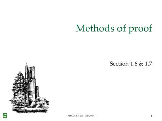 Methods of proof