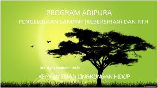 PROGRAM ADIPURA