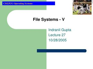 File Systems - V