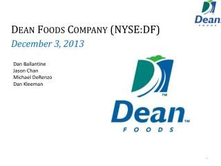 Dean Foods Company (NYSE:DF)