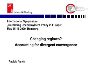 Changing regimes?  Accounting for divergent convergence