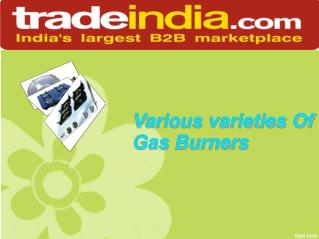 Lpg Gas Burners Suppliers
