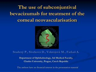 The use of subconjuntival bevacizumab for treatment of the corneal neovascularisation