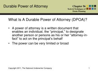 What Is A Durable Power of Attorney (DPOA)?