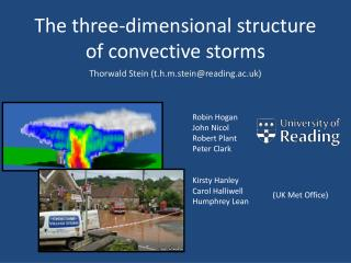 The three-dimensional structure  of convective storms