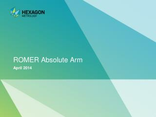 ROMER Absolute Arm