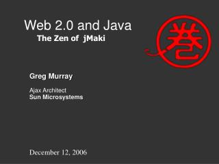 Web 2.0 and Java