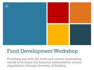 Fund Development Workshop