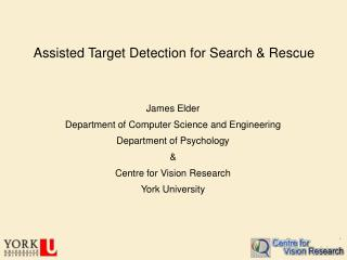 Assisted Target Detection for Search & Rescue