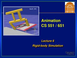 Animation CS 551 / 651