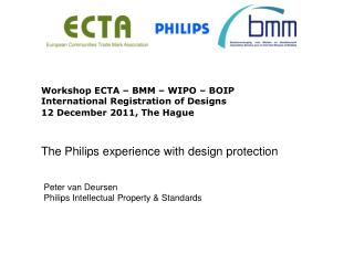Peter van Deursen Philips Intellectual Property & Standards