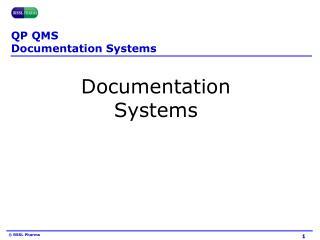 QP QMS Documentation Systems