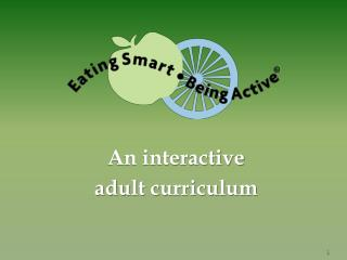 An interactive  adult curriculum