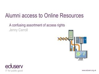 Alumni access to Online Resources