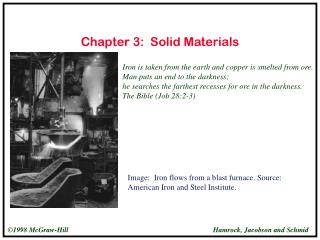 Chapter 3: Solid Materials