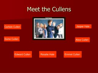 Meet the Cullens