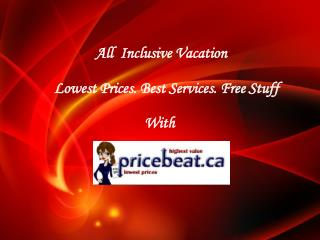 All Inclusive Travel Packages and Deals