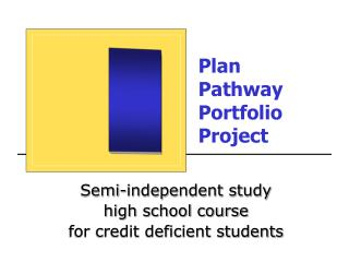 Plan  Pathway  Portfolio Project
