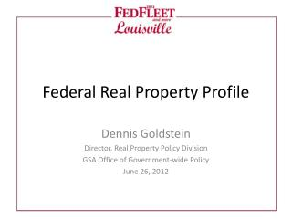 Federal Real Property Profile