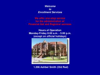 Welcome to Enrollment Services