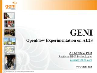 GENI OpenFlow  Experimentation on AL2S