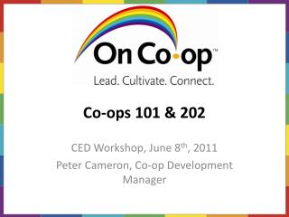 Co-ops 101 & 202
