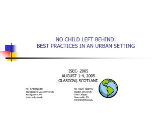NO CHILD LEFT BEHIND: BEST PRACTICES IN AN URBAN SETTING