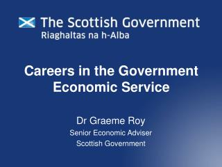 Careers in the Government Economic Service