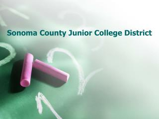 Sonoma County Junior College District