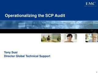 Operationalizing the SCP Audit