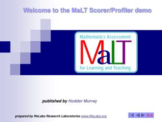 Welcome to the MaLT Scorer