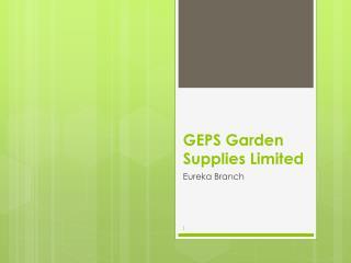 GEPS Garden Supplies Limited