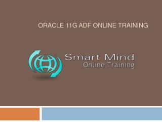 Oracle 11g ADF online training in usa, uk, Canada, Malaysia,