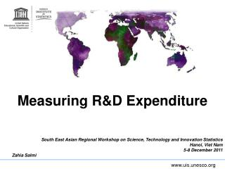Measuring R&D Expenditure