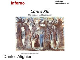 Canto XIII