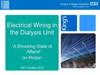 Electrical Wiring in the Dialysis Unit