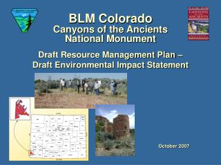 BLM Colorado Canyons of the Ancients National Monument