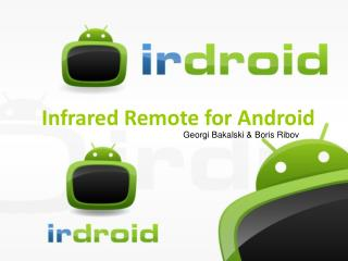 Infrared Remote for Android