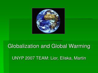 Globalization and Global Warming