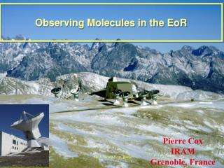 Observing Molecules in the EoR