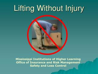 Lifting Without Injury