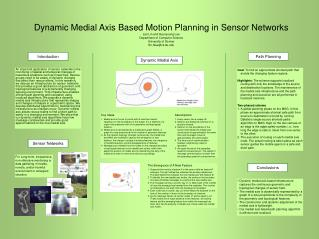 Dynamic Medial Axis Based Motion Planning in Sensor Networks Lan Lin and Hyunyoung Lee