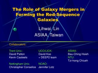 The Role of Galaxy Mergers in Forming the Red-Sequence Galaxies