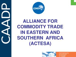 ALLIANCE FOR COMMODITY TRADE IN EASTERN AND SOUTHERN  AFRICA (ACTESA)