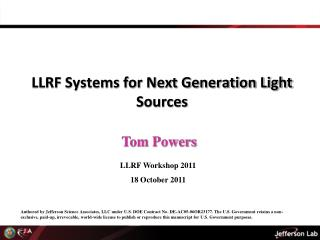 LLRF Systems for Next Generation Light Sources