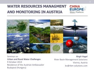 WATER RESOURCES MANAGMENT AND MONITORING IN AUSTRIA